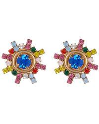 Loren Hope - 18k Gold Isabel Stud Earrings - Lyst