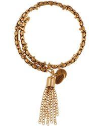 ALEX AND ANI - Tassel Coil Bracelet - Lyst
