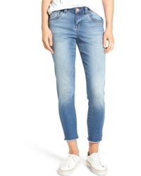 Wit & Wisdom - Seamless Ankle Skimmer Jeans (regular & Petite) (nordstrom Exclusive) - Lyst