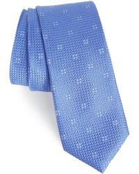 Calibrate - Classic Neat Silk Tie - Lyst