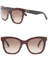 0ab2576e2e71 Oliver Peoples 'emmy' 55mm Sunglasses - Pecan Pie in Natural - Lyst