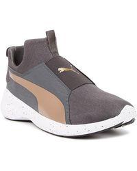 2743711006cb Puma Rebel Mid Sneaker in White - Lyst