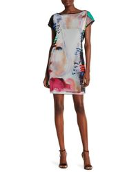 Petit Pois - Short Sleeve Patterned Dress - Lyst