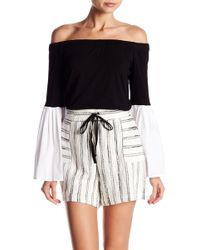 103fd1d3b7492 Vince Camuto - Off-the-shoulder Bell Sleeve Blouse - Lyst