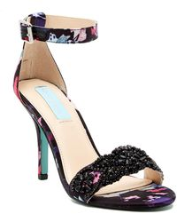 Betsey Johnson - Gina Embellished Stiletto Sandal - Lyst