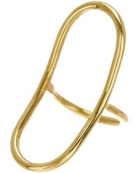 Soko - Capsule Oval Ring - Size 7 - Lyst