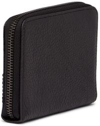Liebeskind Berlin - Lizard Embossed Stitched Leather Coin Wallet - Lyst