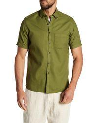 Borgo 28 - Solid Waffle Modern Fit Shirt - Lyst