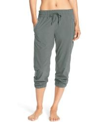 Zella - Out & About Crop Joggers - Lyst