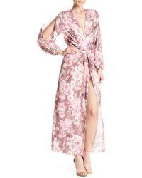 Alexia Admor - Drape Front Cut Out Dress - Lyst