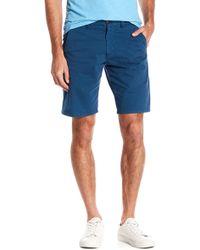 Good Man Brand - Wrap Monaco Micro Dot Stretch Shorts - Lyst