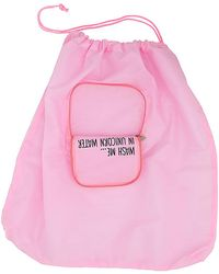 MIAMICA - 'wash Me In Unicorn Water' Laundry Bag - Lyst