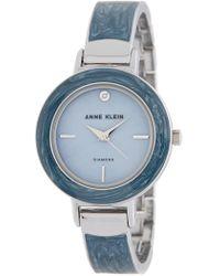 Anne Klein - Women's Diamond Accent Bangle Watch, 34mm - Lyst