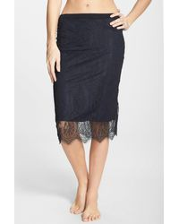 Only Hearts - French Lace Pencil Skirt - Lyst