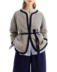 J.Crew - Branford Boiled Wool Blend Jacket - Lyst