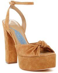 B Brian Atwood - Gabby Platform Sandal - Lyst