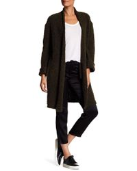 Zadig & Voltaire - Thick Knit Wool Blend Cardigan - Lyst