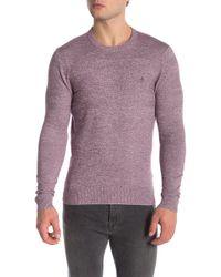 Original Penguin - Marled Cotton Crew Neck Sweater - Lyst