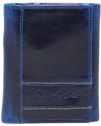 Robert Graham - Belfast Leather Trifold Wallet - Lyst