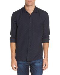 Billy Reid - John T Slim Fit Sport Shirt - Lyst