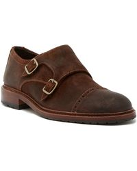 Trask - Langley Monk Strap Shoe - Lyst