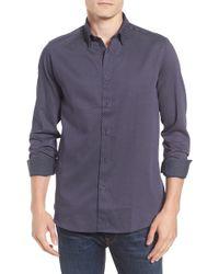 Ted Baker - Modern Slim Fit Print Sport Shirt - Lyst