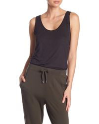 Kenneth Cole - Low Scoop Rings Tank - Lyst