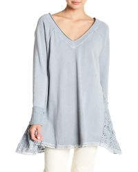 Free People - No Frills Pullover Jumper - Lyst