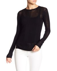 Fate - Mixed Knit Sweater - Lyst