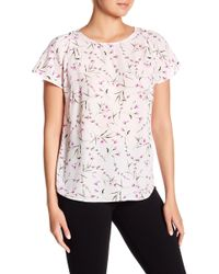 Cece by Cynthia Steffe - Graceful Floral Blouse - Lyst