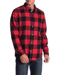 Wesc - Flannel Button Shirt - Lyst