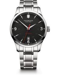 Victorinox - Men's Alliance Automatic Bracelet Watch, 40mm - Lyst