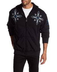 Affliction - Firefight Graphic Print Zip Hoodie - Lyst
