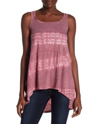 Go Couture - Hi-low Tank Top - Lyst
