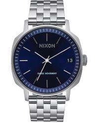 Nixon - Men's The Regent Ii Swiss Quartz Bracelet Watch, 42mm - Lyst