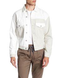 Calvin Klein - Colorblcok Trucker Jacket - Lyst