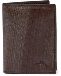 Tommy Bahama - Brush Off Leather L-fold Wallet - Lyst