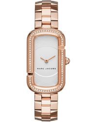 Marc Jacobs - Women's The Jacobs Crystal Bracelet Watch - Lyst