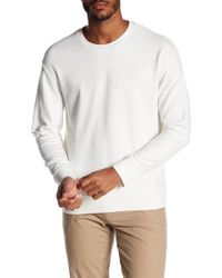 Vince - Seamed Crew Neck Sweater - Lyst
