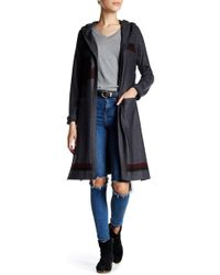 Go Couture - Long Sleeve Pocket Cardigan - Lyst