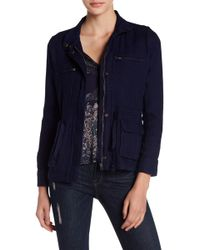 Lucky Brand - Gauze Military Jacket - Lyst