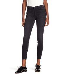 Black Orchid - Noah Ankle Fray Hem Jeans - Lyst
