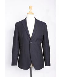 Boga - Solid Wool Blend Blazer - Lyst