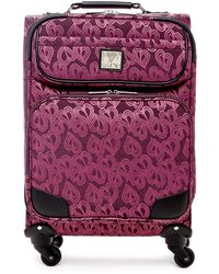 "Diane von Furstenberg - Jacquard Hearts 19"" Expandable Spinner - Lyst"