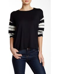 Amour Vert - Cecily Long Sleeve Tee - Lyst