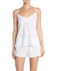 Lucky Brand - Embroidered Camisole Pyjamas - Lyst