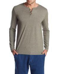 Lucky Brand - Long Sleeve Knit Henley - Lyst