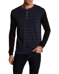 Slate & Stone - Striped Shirt With Button Details - Lyst