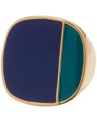 Trina Turk - Colorblock Enamel Ring - Size 7 - Lyst