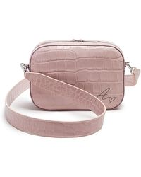 POP AND SUKI - Croc Embossed Bigger Leather Camera Bag (nordstrom Exclusive)  - Lyst c59a4739afbdf